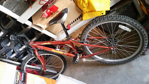 """NORCO MOUNTAIN BIKE 15"""" BARELY USED 24"""" TIRES"""