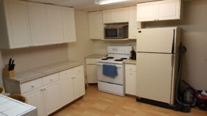 SS basement suite, great kitchen and location!