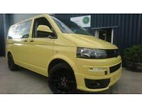 2013 13 VW T5 TRANSPORTER SHUTTLE 2.0 T30 TDI 5 DOOR 160PS KOMBI, CAMPER VAN