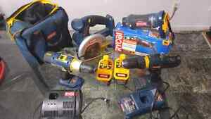 Ryobi One tool package West Island Greater Montréal image 4