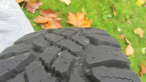 4 winter wheels - tires rims set North Shore Greater Vancouver Area image 4