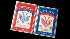 2 complete sets of coated playing cards