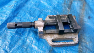 Drill Press Vise Good Condition Quality Made Tool Vice