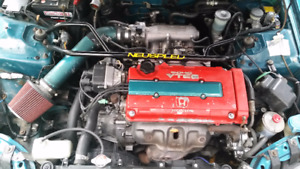 1995 Honda Civic SIR Coupe (2 door) Motor Swap B-16 A June 2016