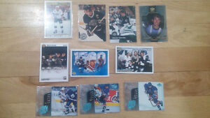 10 Collectible WAYNE GRETZKY Hockey Cards only $10 - LOT 2