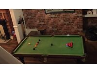 Beautiful Italian slate 6ft x 3ft pool table
