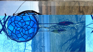Stained glass dream catcher Kingston Kingston Area image 1