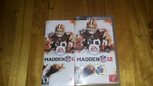 Madden nfl football 2012 psp