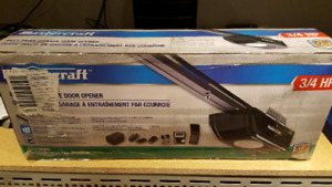 Mastercraft 3/4 HP Belt Garage Door Opener