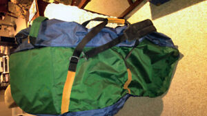 2 soft golf travel bags with wheels