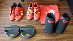 Powerlifting Weightlifting Equipment (Sleeves, Belts, Shoes)