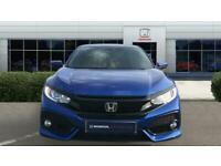 2018 Honda Civic 1.0 VTEC Turbo SR 5dr CVT Petrol Hatchback Auto Hatchback Petro