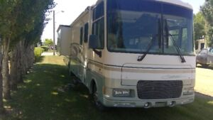 Class A Motorhome for sale, also will sell tow vehicle