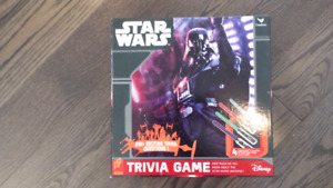 Star Wars Trivia game - never used
