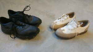 Mens and ladies golf shoes