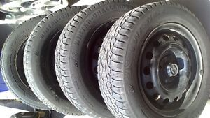 honda civic winter tire with rim 120 or best offer
