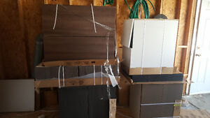 Brand new various cabinets