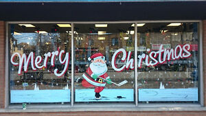 Sign and Window Advertising / Hand Painted Signs / Window Art Stratford Kitchener Area image 1