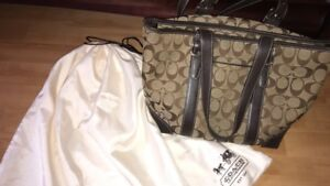 BRAND NEW REAL COACH PURSE
