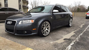 2007 Audi S4 Avant Wagon, Well Maintained, Lowered