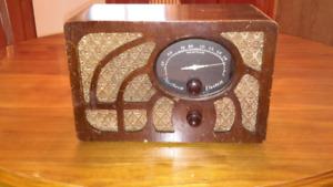 Radio à lampe