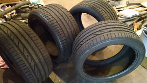 Bridgestone Dueler H/P Sport tires for BMW