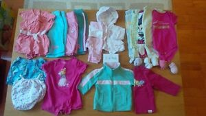 3-6 months girls clothing. $25 for 16 items