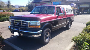 1992 Ford F-150 Lariat SuperCab Pickup Truck