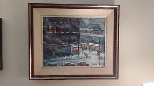 Gordon Roache Original Framed Painting