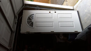 Like New 34 X 80 Front Door with Frame.