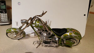 Orange County Choppers collectable chopper model