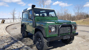 2001 Land Rover Defender 90 - LHD Italian import