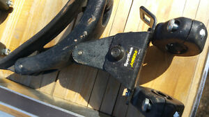 Set of 4 SportRack canoe or kayak roof rack supports.