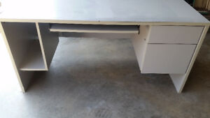 Large Solid Computer Desk