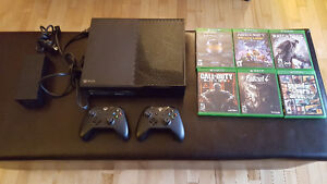 XBOX ONE FALLOUT BUNDLE 1TB plus GAMES