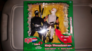 "Gi joe 12"" figures ninja showdown set."