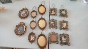 brass photo frames made in taly