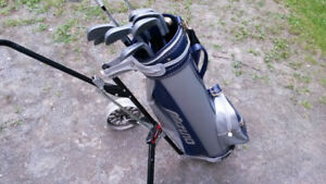 Ensemble de golf Sac Mizuno, baton Nothwestern LTD Plus, chariot
