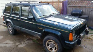 Low km Jeep Cherokee limited, trade for motorcycle