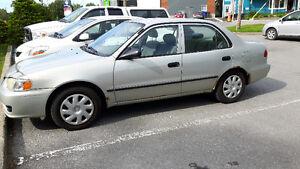 2001 Toyota Corolla Ce Berline
