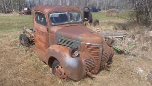 Classic trucks for restoration or rat rods