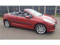 OUTSTANDING.2008 PEUGEOT 207CC GT.FULL LEATHER INTERIOR.68000 MILES.308cc.bmw.z4.z3.audi tt.a3.a4.gt