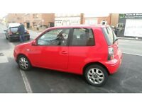 2003 Seat Arosa 1.0 mpi in red