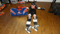 Equipement hockey enfant 4-6ans