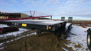 2014 48 Foot BWS EZ-2-Load 48ET3X Tridem Equipment trailer. Exce