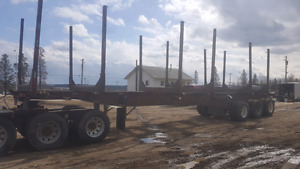 Log trailer for sale