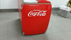 refroidisseur antique coca cola