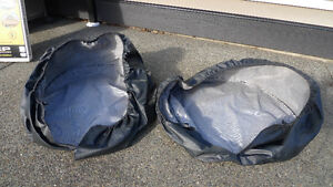 LARGE TIRE COVERS--NEW CONDITION / EACH