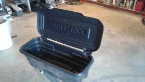 Craftsman lawnmower cargo carrier