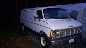 1989 Dodge Ram Van Fourgonnette, fourgon